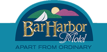 Bar Harbor Motel Retina Logo